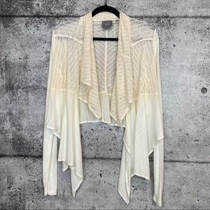 Anthro Vanessa Virginia // Aria Cascading Cardigan